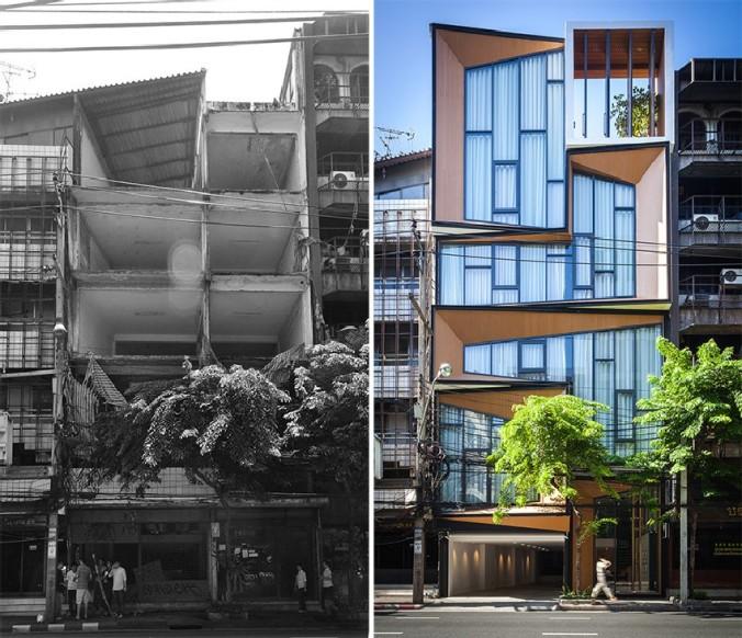 Edificio-en-Tailandia-Convertido-en-una-Sorprendente-Casa-IDIN-Architects-1 (1)